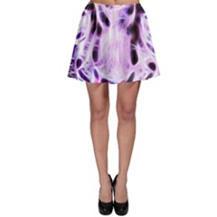 Fractal Wire White Tiger Skater Skirt