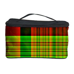 Multicoloured Background Pattern Cosmetic Storage Case
