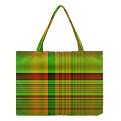 Multicoloured Background Pattern Medium Tote Bag