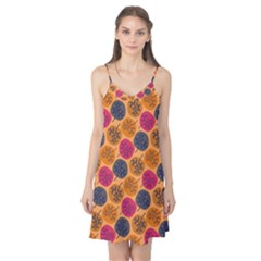 Colorful Trees Background Pattern Camis Nightgown