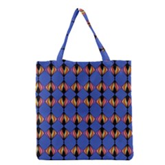 Abstract Lines Seamless Pattern Grocery Tote Bag