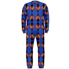 Abstract Lines Seamless Pattern Onepiece Jumpsuit (men)