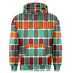 Bricks Abstract Seamless Pattern Men s Pullover Hoodie