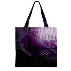 Evil Moon Dark Background With An Abstract Moonlit Landscape Grocery Tote Bag