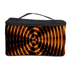 Fractal Pattern Of Fire Color Cosmetic Storage Case