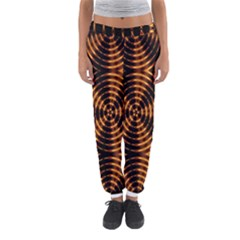 Fractal Pattern Of Fire Color Women s Jogger Sweatpants