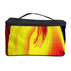 Stormy Yellow Wave Abstract Paintwork Cosmetic Storage Case