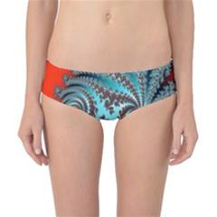 Digital Fractal Pattern Classic Bikini Bottoms