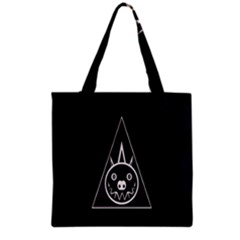 Abstract Pigs Triangle Grocery Tote Bag