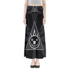 Abstract Pigs Triangle Maxi Skirts