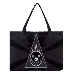 Abstract Pigs Triangle Medium Tote Bag