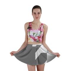 Gradient Base Mini Skirt