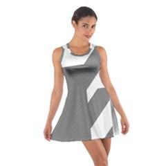 Gradient Base Cotton Racerback Dress
