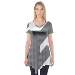 Gradient Base Short Sleeve Tunic