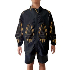 Geometry Interfaces Deus Ex Human Revolution Deus Ex Penrose Triangle Wind Breaker (Kids)
