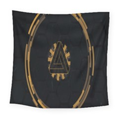 Geometry Interfaces Deus Ex Human Revolution Deus Ex Penrose Triangle Square Tapestry (large)