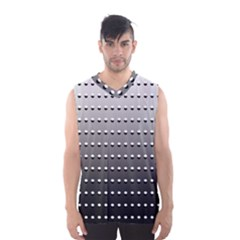 Gradient Oval Pattern Men s Basketball Tank Top