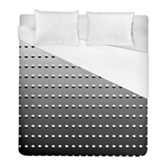 Gradient Oval Pattern Duvet Cover (full/ Double Size)