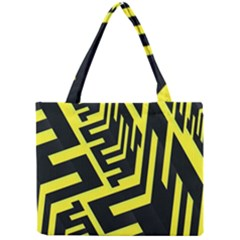 Pattern Abstract Mini Tote Bag