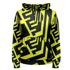 Pattern Abstract Women s Pullover Hoodie