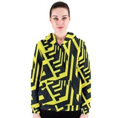 Pattern Abstract Women s Zipper Hoodie