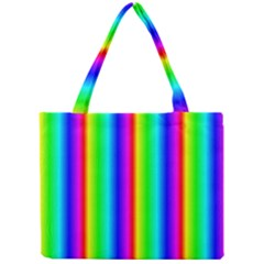 Rainbow Gradient Mini Tote Bag