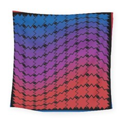 Colorful Red & Blue Gradient Background Square Tapestry (large)