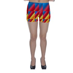 Gradient Map Filter Pack Table Skinny Shorts