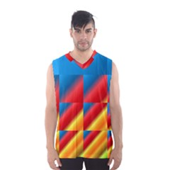 Gradient Map Filter Pack Table Men s Basketball Tank Top