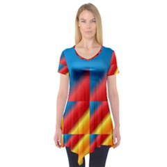 Gradient Map Filter Pack Table Short Sleeve Tunic