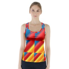 Gradient Map Filter Pack Table Racer Back Sports Top