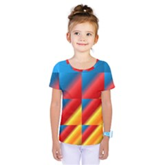 Gradient Map Filter Pack Table Kids  One Piece Tee