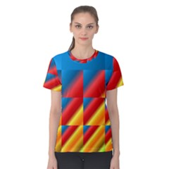 Gradient Map Filter Pack Table Women s Cotton Tee