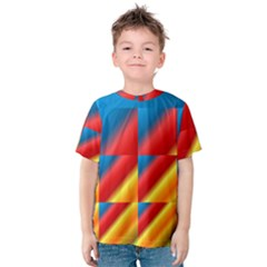 Gradient Map Filter Pack Table Kids  Cotton Tee
