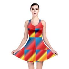 Gradient Map Filter Pack Table Reversible Skater Dress