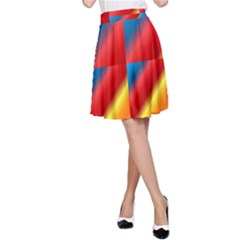 Gradient Map Filter Pack Table A-Line Skirt