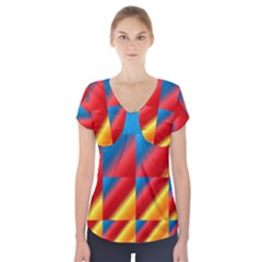 Gradient Map Filter Pack Table Short Sleeve Front Detail Top