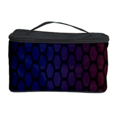Hexagon Colorful Pattern Gradient Honeycombs Cosmetic Storage Case