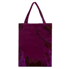Abstract Purple Pattern Classic Tote Bag