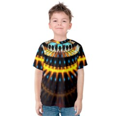 Abstract Led Lights Kids  Cotton Tee