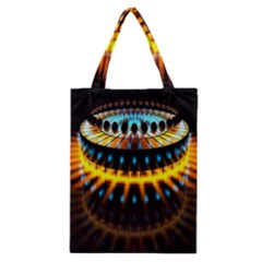 Abstract Led Lights Classic Tote Bag