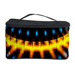 Abstract Led Lights Cosmetic Storage Case