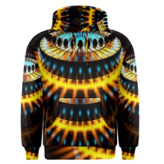 Abstract Led Lights Men s Pullover Hoodie