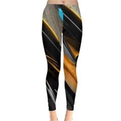 Abstract 3d Leggings