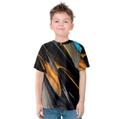 Abstract 3d Kids  Cotton Tee