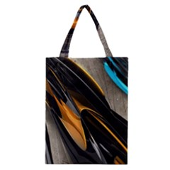 Abstract 3d Classic Tote Bag
