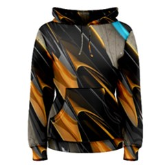 Abstract 3d Women s Pullover Hoodie