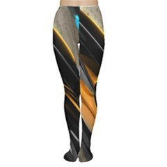 Abstract 3d Women s Tights
