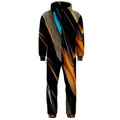 Abstract 3d Hooded Jumpsuit (Men)