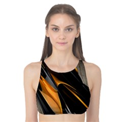 Abstract 3d Tank Bikini Top